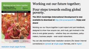 Cambridge Development Report
