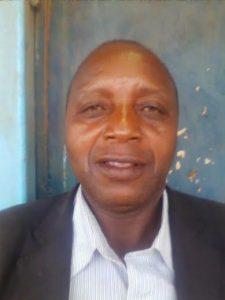 Peter Kitela headmaster of the school in Kenya