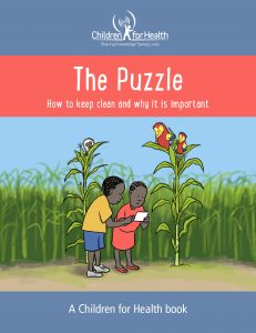 The Puzzle Book Cover