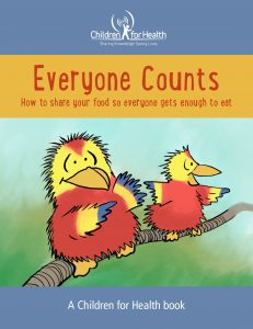 Cover of Everyone Counts a Children for Health StoryBook