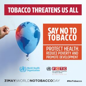 World No Tobacco Day Logo