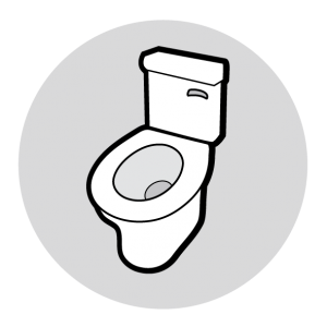 Picture of a Modern Toilet