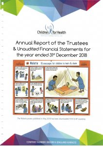 Children for Health Annual Report 2018