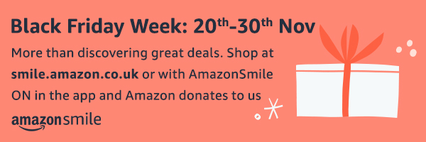 Amazon Smile Black Friday Week 2-30 Nov 2020